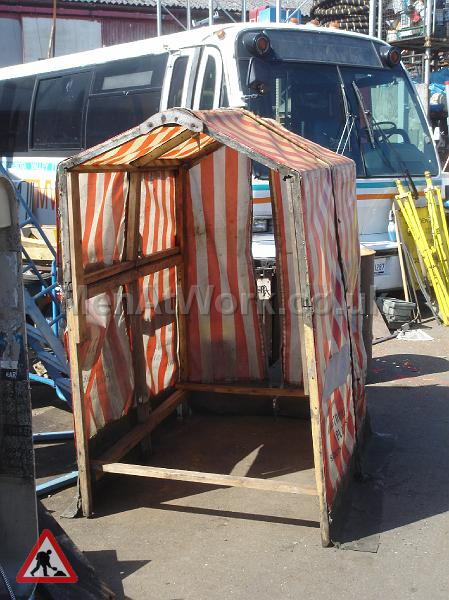 Men At Work Roadworks Bt Tent