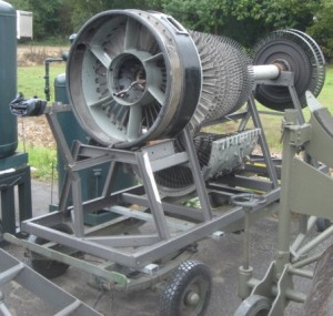 Jet Engine on Trolley