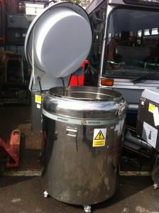 Nitrogen Cylinder With Lid