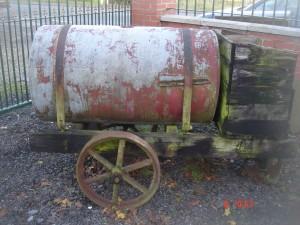 Oil Drum On Wheels