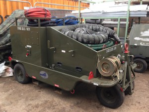 Aircraft Fuel Tank Maintenance Trolley