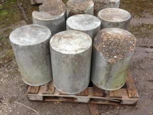 Fake Concrete Bollards