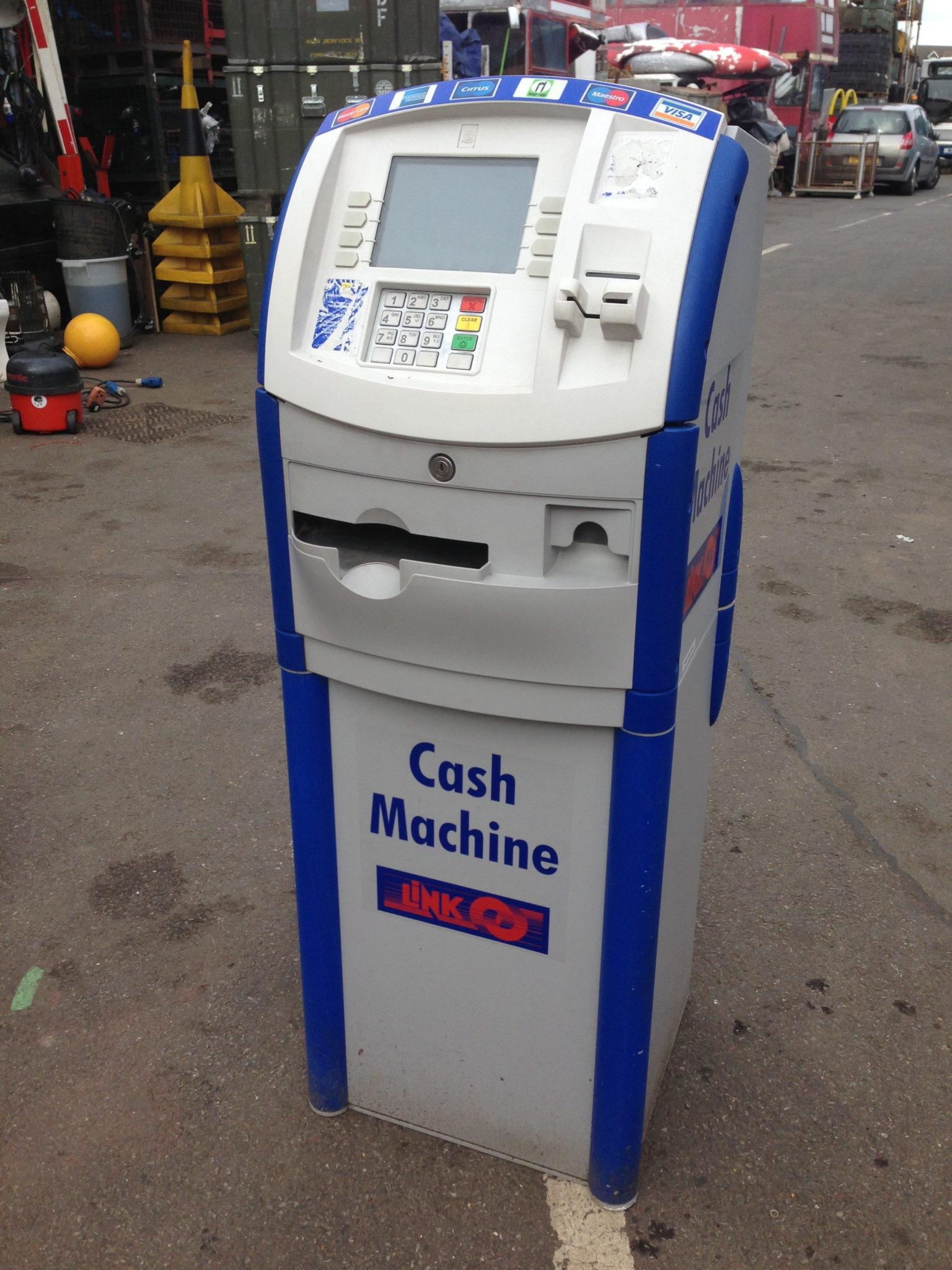 Cash Machines Props - Men At Work