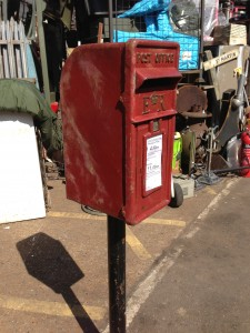 Country Letter Box