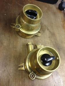 Brass Light Switch