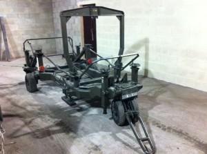 Spey Engine Trolley