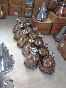 Brass Bulbose Light