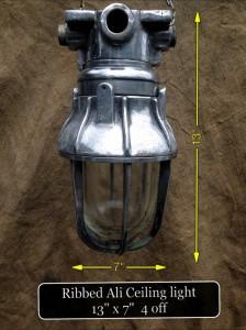 Ribbed Ali Ceiling Lamp